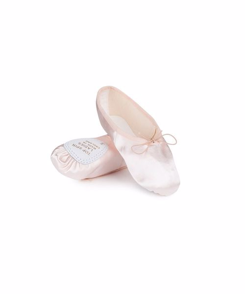 Picture of Ladies Satin Top Spin Ballet Shoe Junior