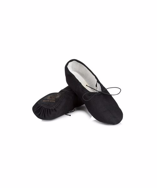 Picture of Mens Canvas Top Spin Ballet Shoe Small