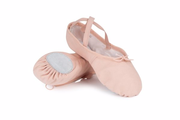 Picture of Split Sole Soft Toe Ballet Shoe Junior