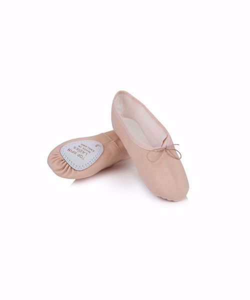 Picture of Ladies Canvas Top Spin Ballet Shoe Adult