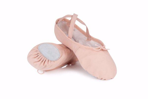 Picture of Split Sole Soft Toe Ballet Shoe Adult