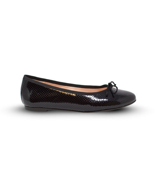 Picture of Ballet Flat - Black Perforated
