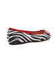 Picture of Ballet Flat - Zebra/Red