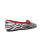 Picture of Ballet Tab - Zebra/Red